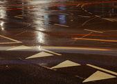 Sokak hatları — Stok fotoğraf