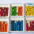 Old wax crayons — Stock Photo #11924034