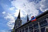 Chatolic church chanthaburi thailand — Stock Photo