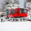 Stock Photo: snow groomer