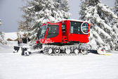 Snow Groomer — Stock Photo