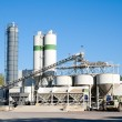Stock Photo: Concrete factory