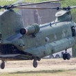CH-47 Chinook helicopter — Stock Photo