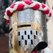Knight helmet - Stock Photo