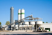 Concrete factory — Stock Photo