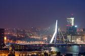 鹿特丹伊拉斯莫斯桥 — 图库照片