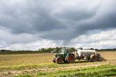 Farmer tractor — Stock Photo