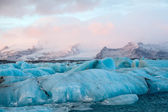 Iceland iceberg — Stock Photo