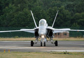 F-18 Swiss — Stock Photo