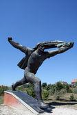 Statue soviétique — Photo