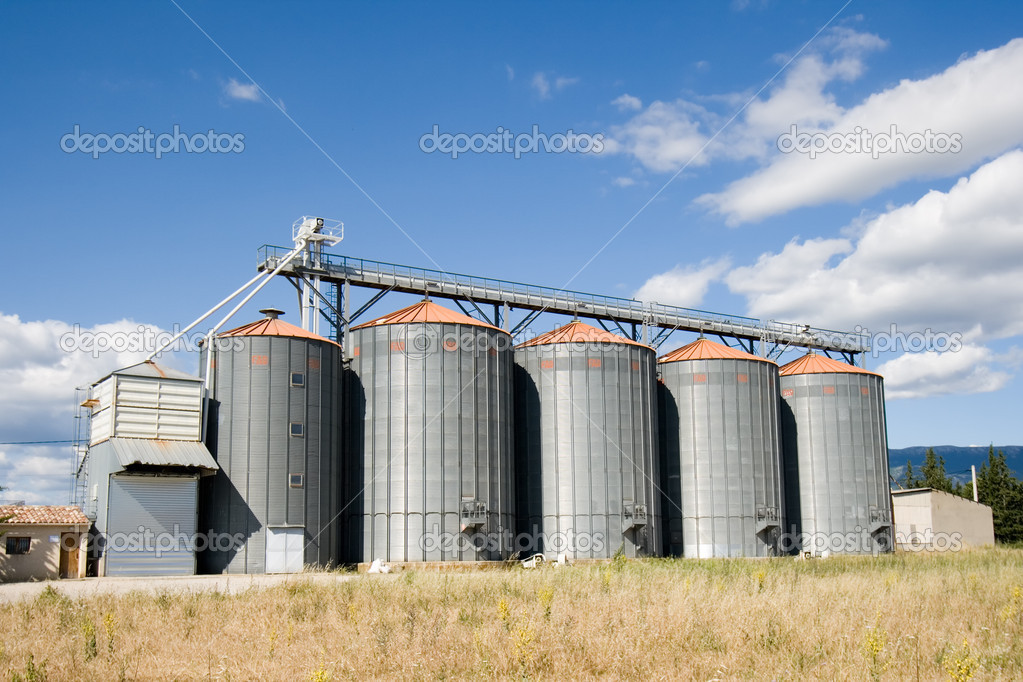 Processing Facility — Stock Photo #11446851