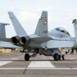 Swiss F-18 - Stock Photo