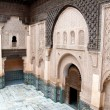 Ali Ben Youssef Madrassa — Stock Photo