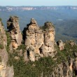 Stock Photo: Three Sisters Australia