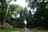 Angkor Wat gate - Cambodia — Stock Photo