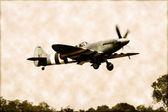RAF Spitfire — Stock Photo