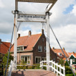 Marken bridge - Holland — Stock Photo