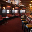 Stock Photo: Cruise bar interior