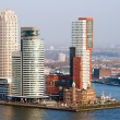 Stock Photo: Rotterdam skyline