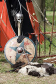 średniowiecznego uzbrojenia — Zdjęcie stockowe