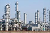 нефтехимический завод — Стоковое фото