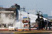 Exercício de bombeiros — Fotografia Stock