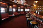 Cruise bar interior — Stock Photo