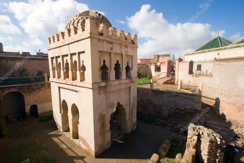 Old fort in Marrakech, Morocco — Stock Photo #11545826