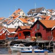 Stromstad town - Stock Photo