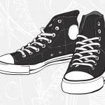 ������, ������: Black sneakers