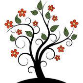 抽象树 — 图库矢量图片