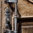 Antique door handle — Stock Photo