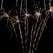 Stock Photo: Solvang fireworks #12