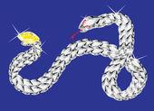 Il serpente — Vettoriale Stock