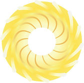 Stylized sun — Stock Vector
