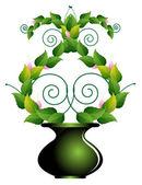 自制植物 — 图库矢量图片