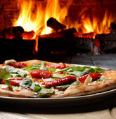 Pizza oven — Stock Photo