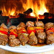 Barbecue on flaming hot — Stock Photo #11426011