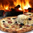 Pizza oven — Stock Photo #11429271