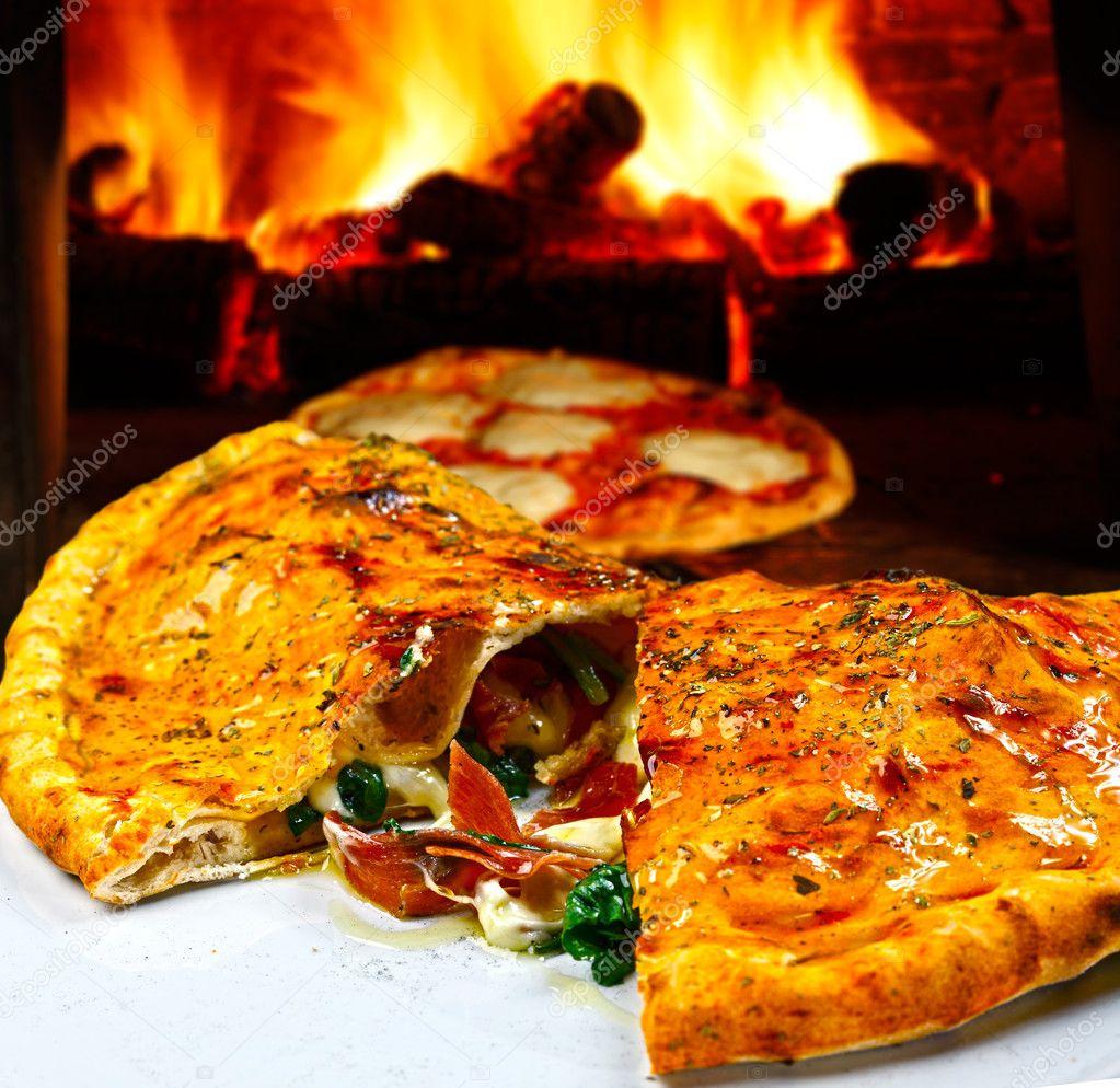 закрытая пицца рецепт