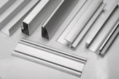 Aluminum profile — Stock Photo