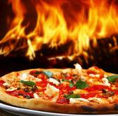 Pizza trouba — Stock fotografie