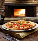Pizza oven — Stock Photo
