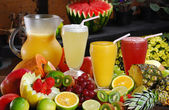Fruit juice — Stock Photo
