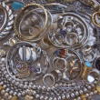 Royalty-Free Stock Photo: Variety of golden and silver jewels