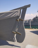 Motozappa barca — Foto Stock