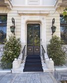 Elegant house door — Stock Photo