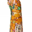 Постер, плакат: Statuette in the style of Klimt The Kiss