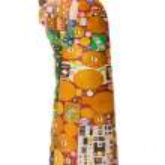 Постер, плакат: Statuette in the style of Klimt The Kiss