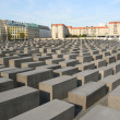 Jewish Holocaust Monument in Berlin - Stock Photo